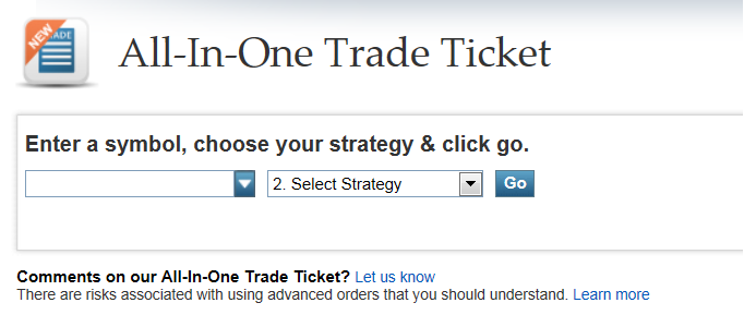 Trading stock options online